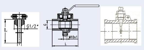 西门子热表温度传感器的安装方式